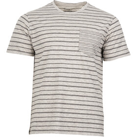 United By Blue Standard Stripe T-shirt Homme, grey